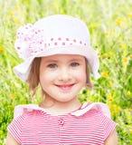 Mała dziewczynka w kapeluszu Zdjęcie Stock