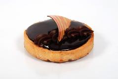 małe czekoladowe ciasto Obrazy Royalty Free