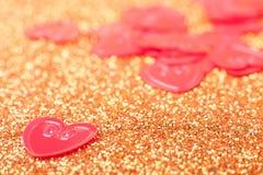 małe czerwone serce Zdjęcia Royalty Free
