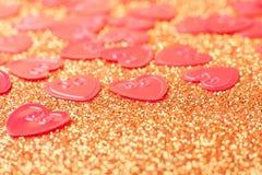 małe czerwone serce Fotografia Stock