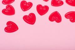 małe czerwone serce Obraz Royalty Free