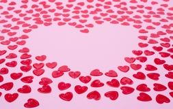 małe czerwone serce Obrazy Stock
