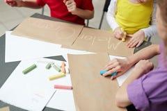 Małe Dzieci w Angielskiej lekci Fotografia Stock