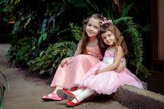 Małe dziewczynki Obraz Royalty Free