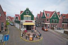 Małe miasto ulicy Obrazy Stock
