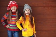 Małe mod dziewczyny Obrazy Stock