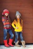 Małe mod dziewczyny Zdjęcie Stock
