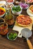 Małe Pizze Obraz Royalty Free