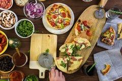 Małe Pizze Zdjęcie Stock