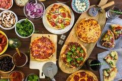 Małe Pizze Zdjęcie Royalty Free