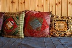 Małe poduszki Fotografia Stock