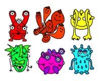 małe potwory ilustracja wektor