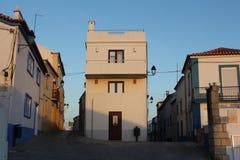 Małe ulicy sinusy, Portugalia Fotografia Stock