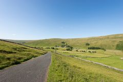 Małe wioski Yorkshire doliny Obrazy Royalty Free