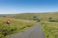 Małe wioski Yorkshire doliny Zdjęcie Stock