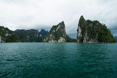 Małe wyspy na oceanie Obrazy Stock