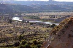 małego Missouri rzeka Zdjęcie Stock