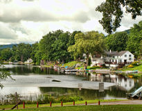 Małego York jezioro Zdjęcie Stock