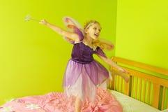 Małej dziewczynki czarodziejka Obrazy Stock