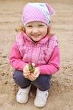 Małej dziewczynki ogrodnictwo Fotografia Stock
