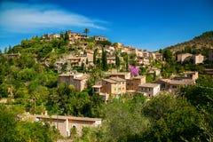 Mała górska wioska Deia Zdjęcie Stock