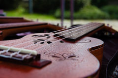 Mała gitara Fotografia Royalty Free