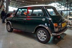 Mała gospodarka samochodowy Rover Mini Cooper Zdjęcia Stock