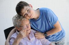 Ma grand-maman Photos stock