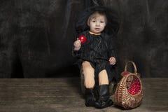 Mała Halloween czarownica Obrazy Stock