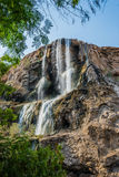 Ma'in hot springs waterfall jordan Royalty Free Stock Photography