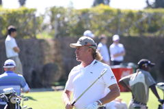 MA Jimenez at Andalucia Golf Open, Marbella Royalty Free Stock Photography