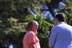 MA Jimenez at Andalucia Golf Open, Marbella Royalty Free Stock Image