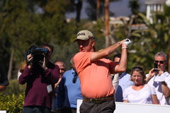 MA Jimenez at Andalucia Golf Open, Marbella Stock Photo