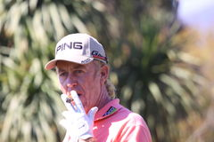 MA Jimenez at Andalucia Golf Open, Marbella Stock Photography