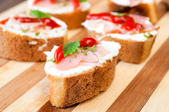 Mała kanapka Obraz Stock