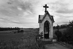 Mała kaplica na wsi Obraz Stock