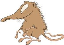 mała kreskówki mysz Zdjęcie Royalty Free