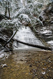 Maślanka spadki - Cuyahoga Dolinny park narodowy, Ohio Zdjęcia Stock