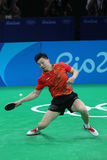MA Long at the Olympic Games in Rio 2016. Ma Long from China Olympic Champion at the Olympic Games in Rio 2016 Royalty Free Stock Photo
