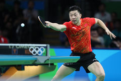 MA Long at the Olympic Games in Rio 2016. Ma Long from China Olympic Champion at the Olympic Games in Rio 2016 Royalty Free Stock Photography