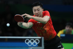 MA Long at the Olympic Games in Rio 2016. Stock Images