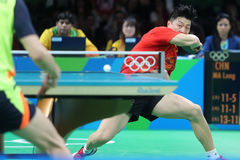 MA Long at the Olympic Games in Rio 2016. Stock Image