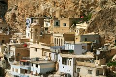 Ma'loula, Maaloula, or Ma'lula Stock Images