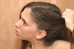 Mán día del pelo Foto de archivo libre de regalías