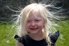 Mán día del pelo Imagenes de archivo