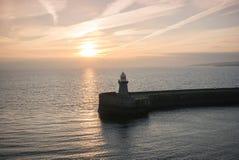 Mała Newcastle latarnia morska Obrazy Royalty Free