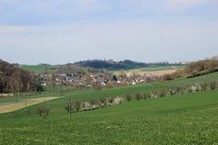 Mała Niemiecka wioska Zdjęcia Stock