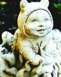 Mała ogrodowa statua Zdjęcie Stock
