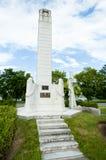 Małomiasteczkowy Cenotaph Fredericton, Kanada - Zdjęcie Royalty Free