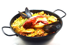 Ma paella. Royalty Free Stock Images